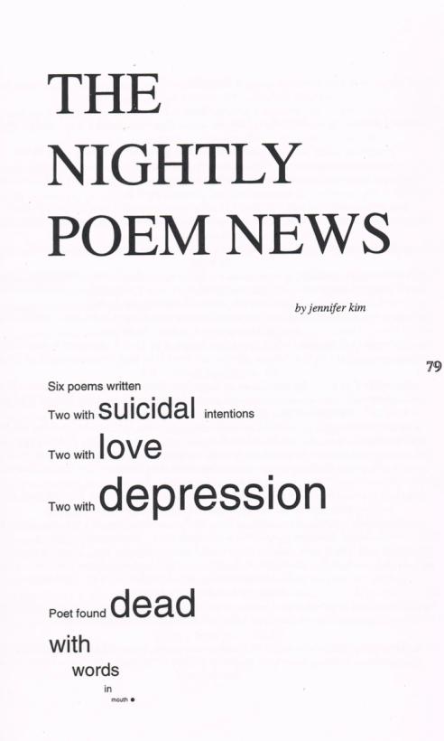NightlyPoemNews